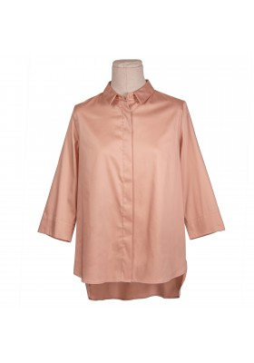 CAMISA OVER ROSA